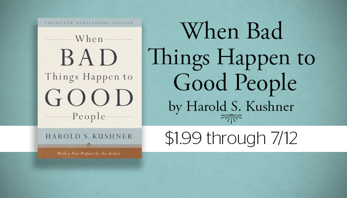 a review of harold kushners book when bad things happen to good people The hardcover of the the book of job: when bad things happened to a good harold s kushner is rabbi self-help book, when bad things happen to good people.