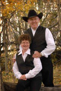 B.N. Rundell with wife Dawn